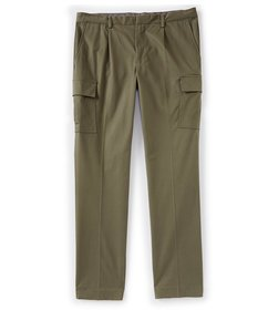 Crosby & Howard Slim Fit Single Pleat Cargo Drawst