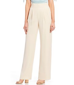 Antonio Melani Mila High Waist Pleat Front Wide Le