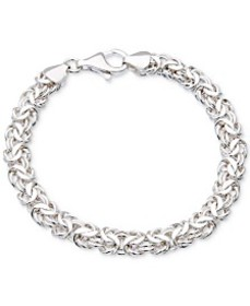 Giani Bernini Byzantine Link Bracelet in Sterling