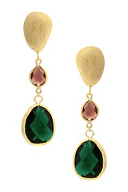 Rivka Friedman 18K Gold Clad Graduated Faceted Tou