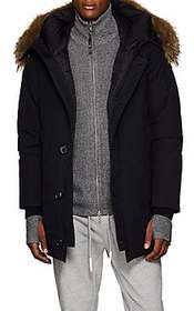 Moncler Polaris Fur-Trimmed Down Parka