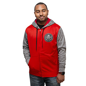 Hydra Space Dye Zip-Up Hoodie