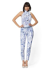 Madie Pant - Floral - 7th Avenue - New York & Comp