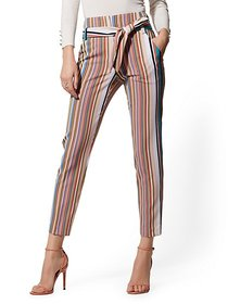 Madie Pant - Stripe - 7th Avenue - New York & Comp