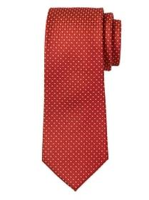 Textured Dot Silk Nanotex® Tie