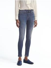 Petite Skinny Zero Gravity Medium Wash Ankle Jean