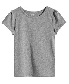 Epic Threads Little Girls Solid T-Shirt, Created f