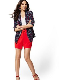 Tall Navy Madie Soft Blazer - 7th Avenue - New Yor