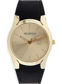 Awearness Kenneth Cole Gold & Black Watch