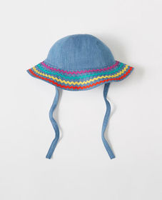 Hanna Andersson Floppy Chambray Hat