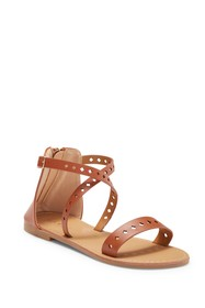 Nicole Miller Bianca Star Perforated Sandal (Toddl