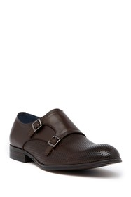 Vintage Foundry Perforated Double Monk Strap Loafe