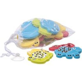 Playgro Bath Shapes Animal Friends with Net and Su