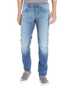 G-Star 3301 Slim in Itano Stretch Denim Light Aged