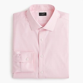 J. Crew Ludlow stretch two-ply easy-care cotton dr