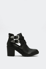 Nasty Gal Double Trouble Western Boot