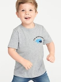 Mini-Me Graphic Tee for Toddler Boys