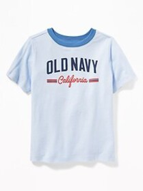 Logo-Graphic Crew-Neck Tee for Toddler Boys