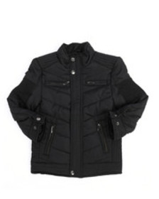 Arcade Styles quilted jersey lined jacket (2t-4t)