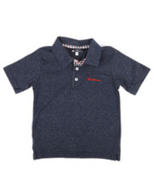 Ben Sherman short sleeve polo shirt (4-7)