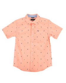 Nautica stretch anchor print shirt (8-20)