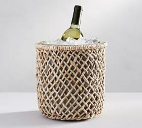 Pottery Barn Woven Wine Cooler