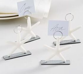 Pottery Barn Starfish Place Card Holders, Set of 4