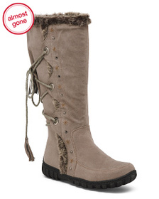 BUCCO Side Zip Fashion Storm Boots