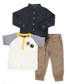 Ben Sherman 3 piece knit set (2t-4t)
