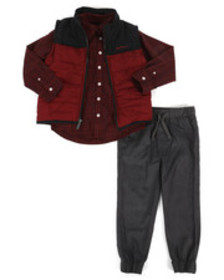 Ben Sherman 3 piece vest set (4-7)