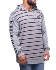 Ecko mini stripe l/s hood (b&t)