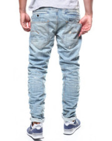 G-STAR staq 3d straight tapered 50 yr worn jean