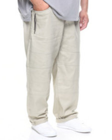 Akademiks chopper tassel zipper pant (b&t)