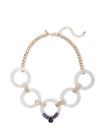 Goldtone Open-Link Necklace - New York & Company