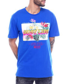 Buyers Picks tropical floral ss tee