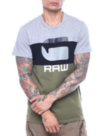 G-STAR colorblock g raw tee