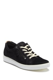 ECCO Soft 7 Side Zip Sneaker