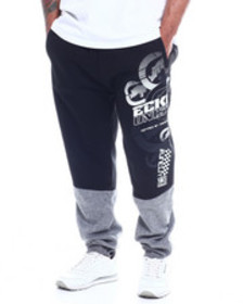 Ecko slash & mesh fashion jogger (b&t)