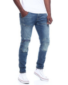 G-STAR 5620 3d zip knee skinny jean