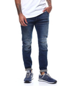 G-STAR 5620 3d slim painted ripped jean