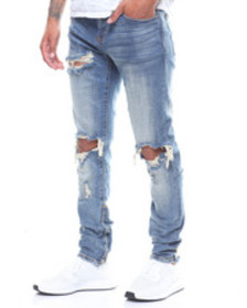 Crysp pacific denim blue stone wash