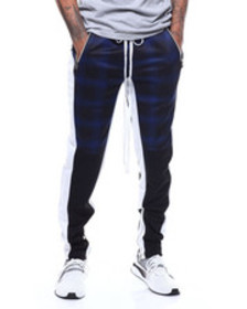 Buyers Picks plaid track pant