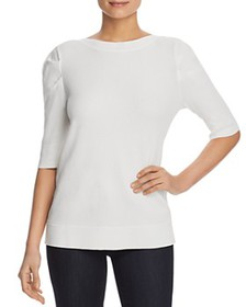 Calvin Klein - Shirred Puff Sleeve Sweater