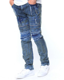 Buyers Picks oil stain stretch jeans