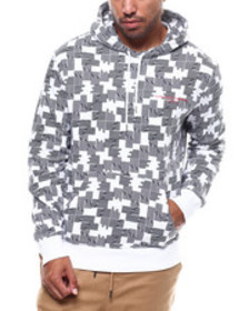 WESC puzzle check hoodie