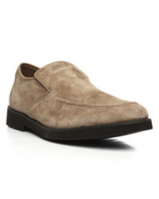 Hush Puppies suede bracco mt slip on shoes