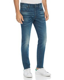 G-STAR RAW - 3301 Slim Fit Jeans in Medium Aged
