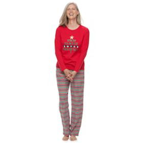 Women's Jammies For Your Families 'This Family Lov