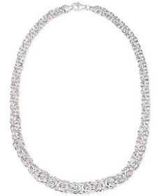 Giani Bernini Byzantine Link Collar Necklace in St