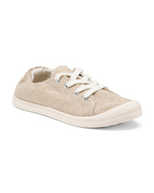 MADDEN GIRL Lace Up Canvas Sneakers